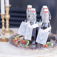Bottled Wedding Favors