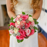 Gina's Bridal Bouquet