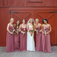 Gina and her Bridesmaids