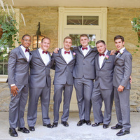 Grayson and his Groomsmen