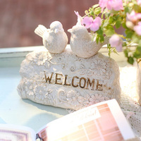 Stone Welcome Sign