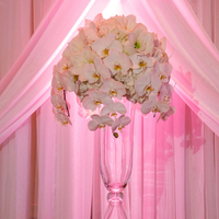 Glam Ballroom Ceremony Decor