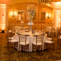 Glam Gold Ballroom Reception