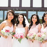 Sue-Lynn and her Bridesmaids