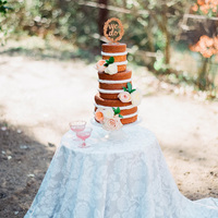 Garden Wedding Cake Display