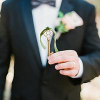 Vintage Brass Key