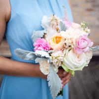 Tonya's Bridesmaids' Bouquets