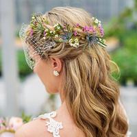 Rustic Ethereal Bridal Hair