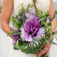 Purple Kale Bouquet