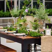 Organic Market Tablescape