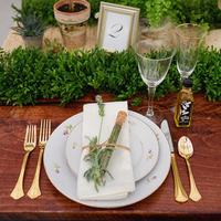 Market Inspired Place Settings