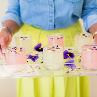 DIY: Pansy Ice Tray