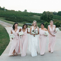 Liza and her Bridesmaids