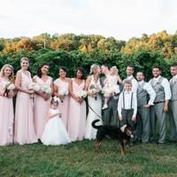 Liza and Luke + Wedding Party