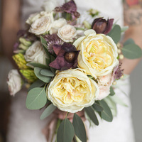 Mauve and Neutral Bouquet