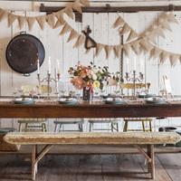 Charming Farmhouse Tablescape