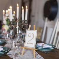 Easel Table Numbers
