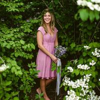 Sweet Pink Bridesmaid Look