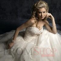 Sleeveless Empire Chapel Train Empire Wedding Dresses