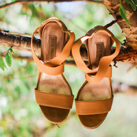 Megan's Wedding Day Shoes