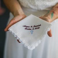 Megan's Bridal Handkerchief