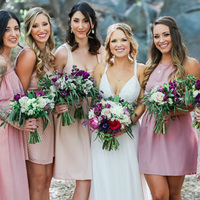 Megan and her Bridesmaids