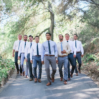 Jeremiah and his Groomsmen