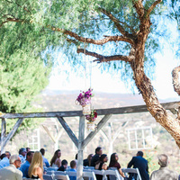 Hanging Ceremony Flowers