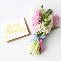 DIY: Ribbon Message Bridesmaid Bouquet