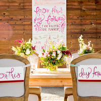 Sentimental Chair Signs