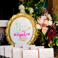 Ethereal Escort Cards