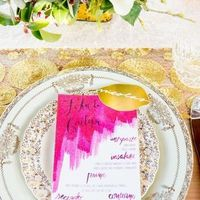 Customized Menu Cards