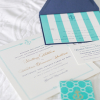 Bright Nautical Invitation Suite