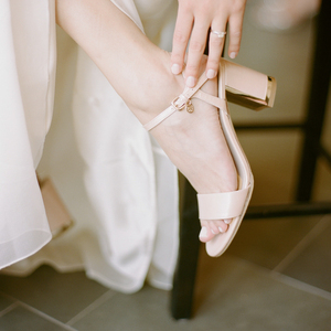 Michelle's Wedding Day Shoes