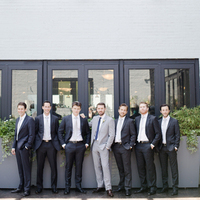 James and his Groomsmen