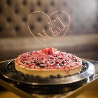 Heart Topped Pie