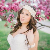 Glam Bridal Style