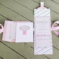 Candy Striped Invitation