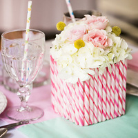 Peppermint Stick Centerpieces