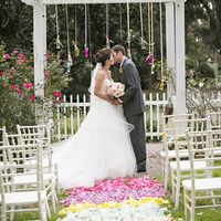 Vibrant Garden Ceremony