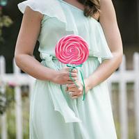 Lollipop Bridesmaid Bouquets