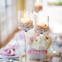 Candy Pillar Candles