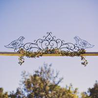 Rustic Vintage Ceremony Entrance