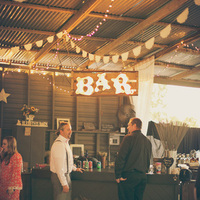 Country Chic Bar Decor