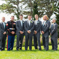 Ryan and his Groomsmen