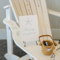 Adirondack Chair Guest Book