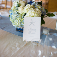 Beach-Inspired Table Numbers