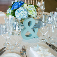 Summery Blue Tablescapes