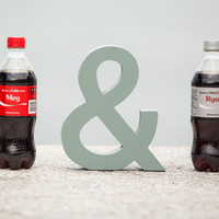 Coca-Cola Bride & Groom Bottles