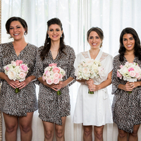 Leopard Bridesmaid Robes